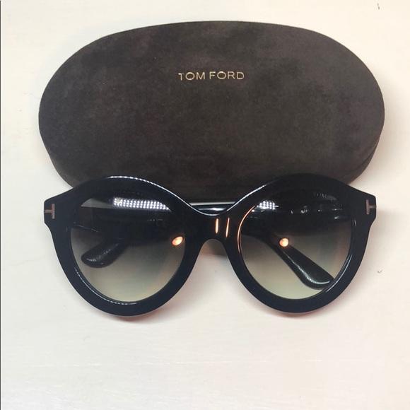 5e4cb6902714 TOM FORD NWT Chiara Round Sunglasses